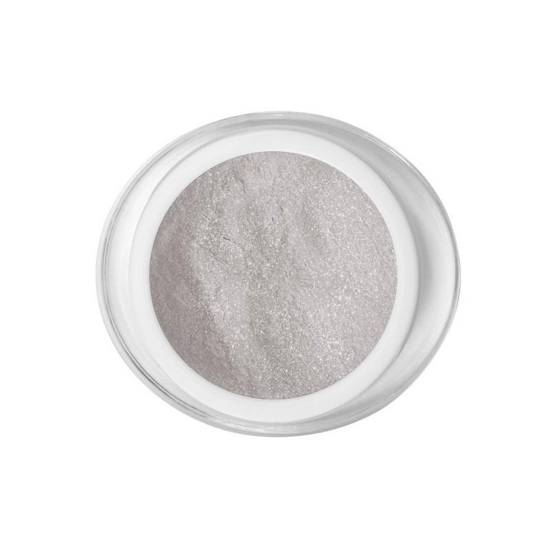 Acrílico polvere plata color