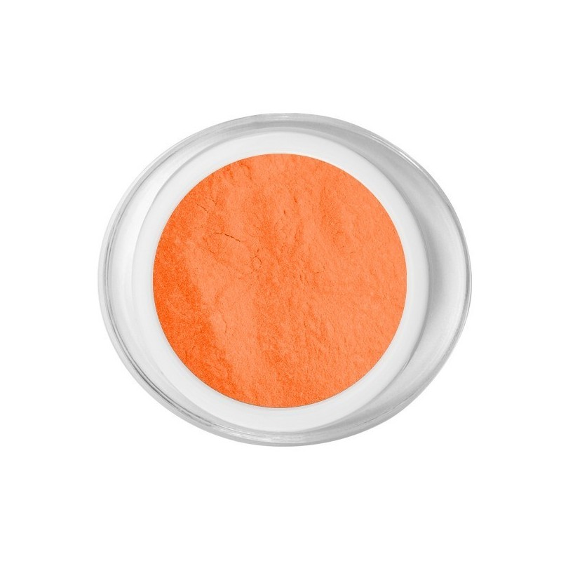 Acrílico neon orange color