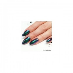 Polaris efect green-purple uñas