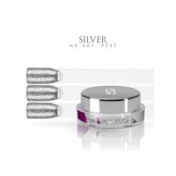 Gel paint silver