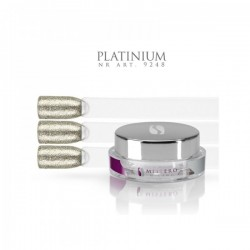 Gel paint platinum