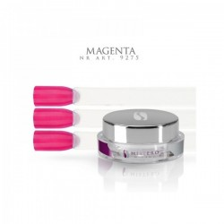 Gel paint magenta