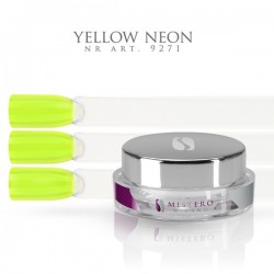 Gel paint yellow neon