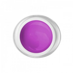 Gel paint violet color